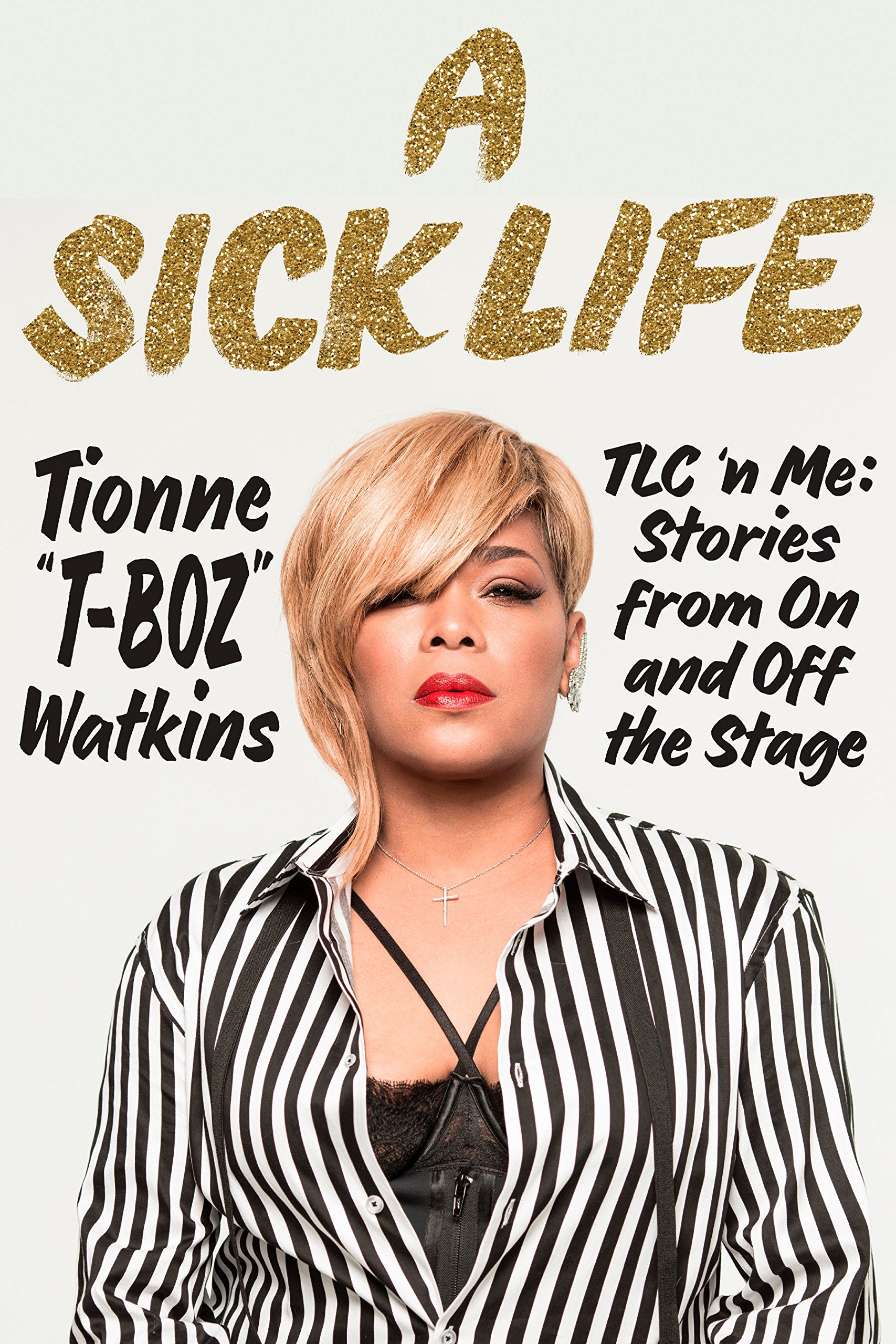 A picture of Tionne Watkins book cover.