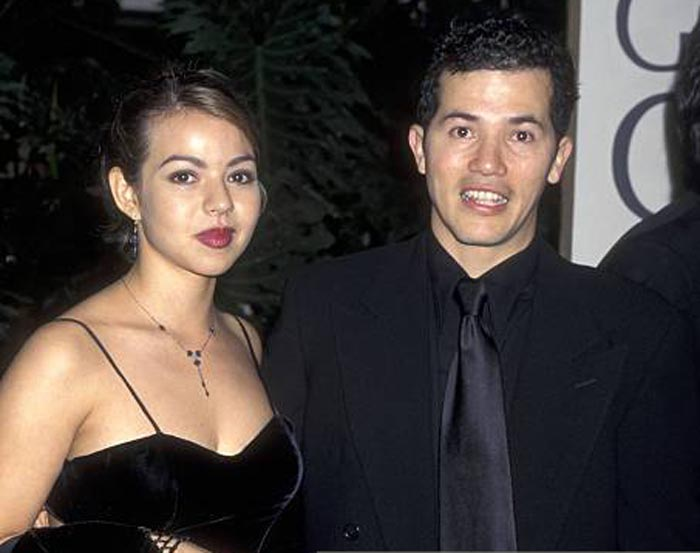 A picture of Yelba Osorio and John Leguizamo together.