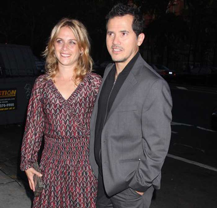 A picture of Justine Maurer and Justin Leguizamo together.