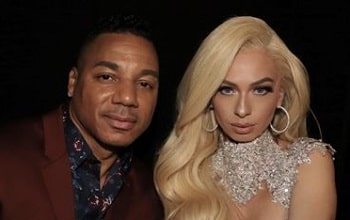 A picture of Mariahlynn with her ex-boyfriend, Rich Dollaz.