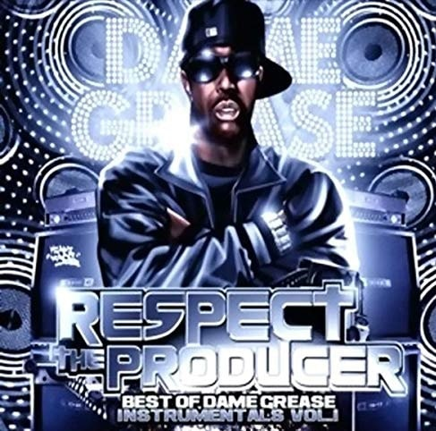 Dame Grease animated cover photo of his Best instrumental volume 1: Respect the producer