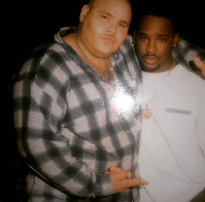 A picture of O.C. and Fat Joe.