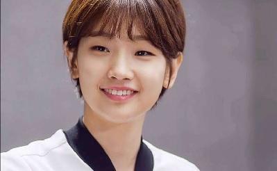 A picture of Park So-dam smiling.