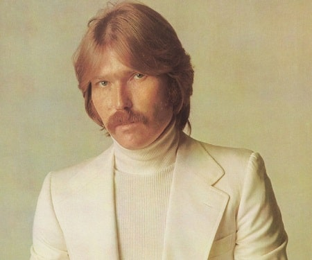 A picture of Terry Melcher, the late ex-husband of Jacqueline Carlin.