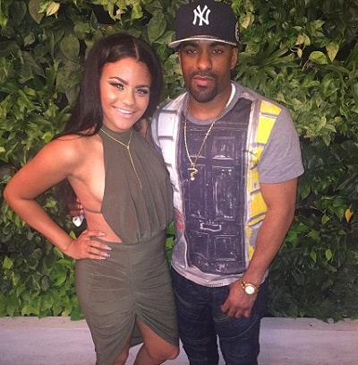 A picture of DJ Clue with his daughter, Bryana Shaw.