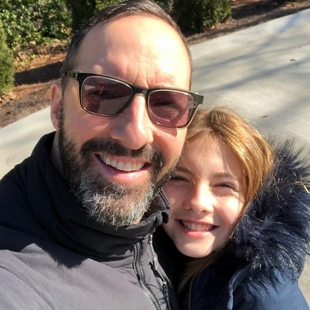 A picture of Loy Ann with her father, Tony Hale.