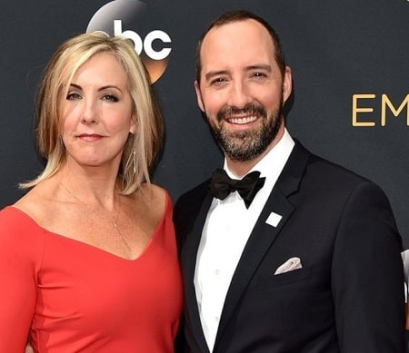A picture of Loy's parents; Tony Hale and Martel Thompson.
