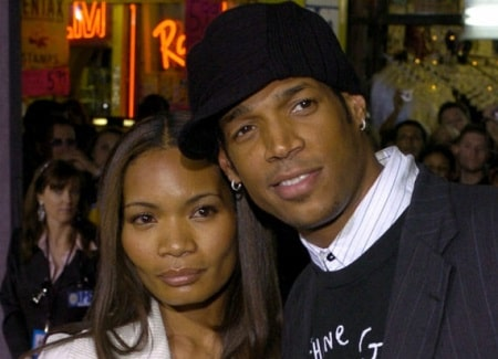 A picture of Amai's parents; Marlon Wayans and Angelica Zachary.