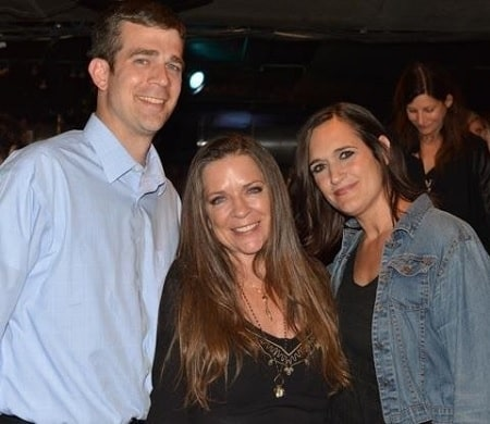 A picture of Tiffany with her  half-brother and mother Carlene Carter.