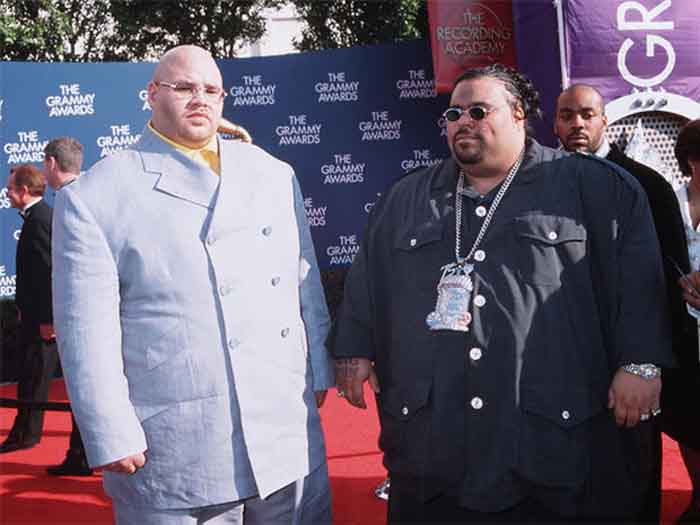 Fat Joe and Big Pun together on a photo.