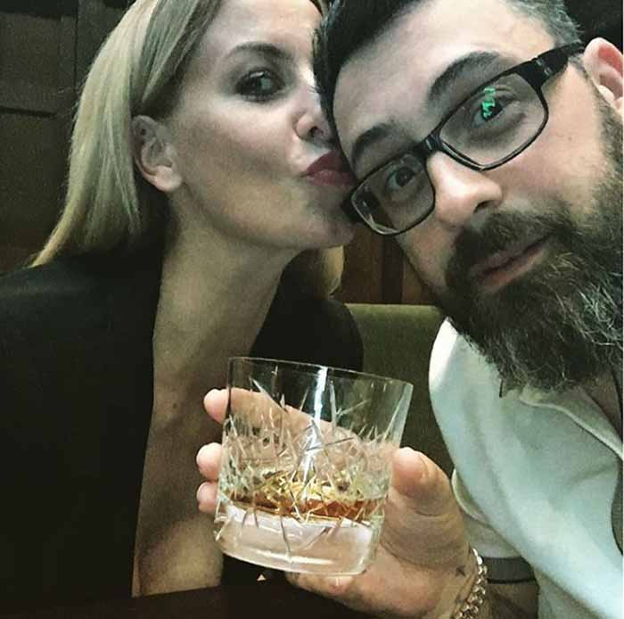 A picture of Sido and his wife Charlotte together.