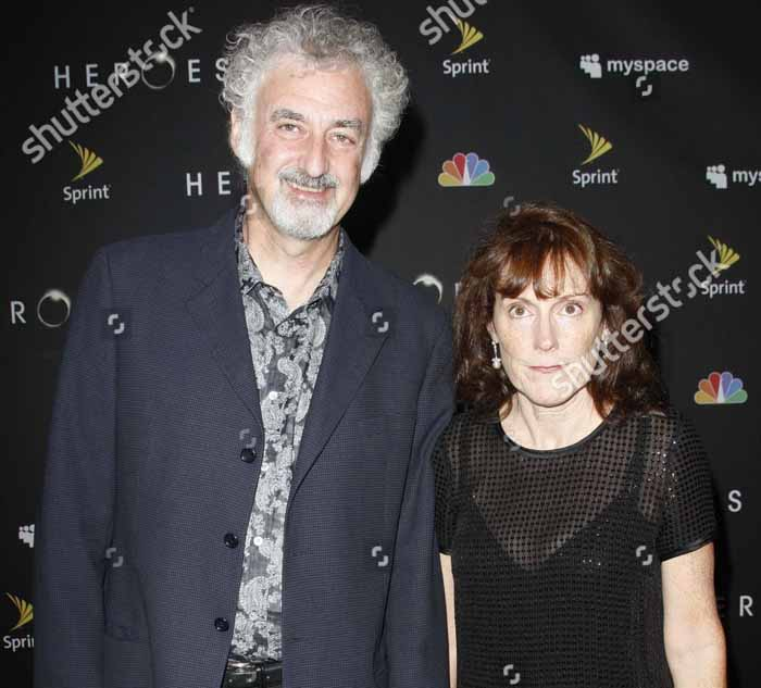 A picture of Allan Arkush and his wife Joanne Palace.