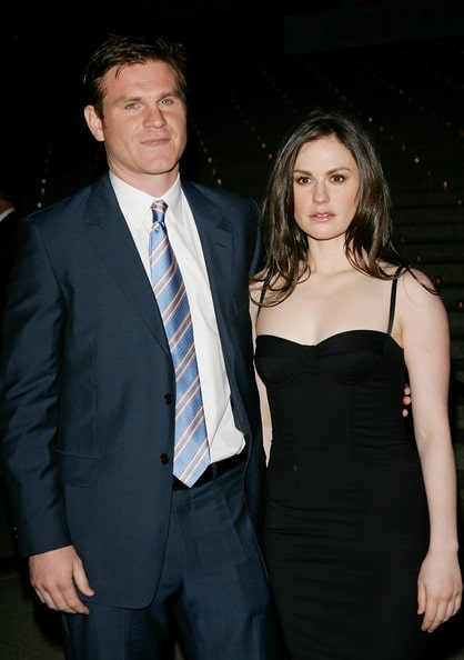 A picture of Andrew Paquin with his younger sister, Anna Paquin.