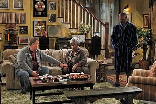 Cleo King as grandmother in television series Mike and Molly
