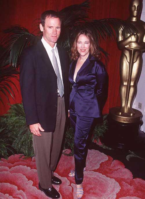 Bo Welch and his wife attending Oscar Awards function.