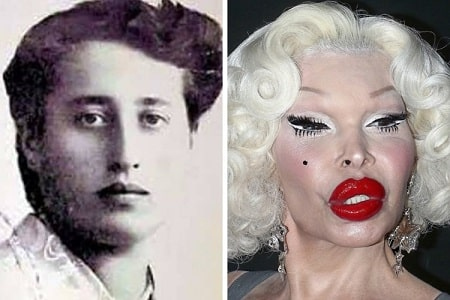 Amanda Lepore's Multiple Plastic Surgery Led to Disaster – Before and After Pictures | Glamour Path