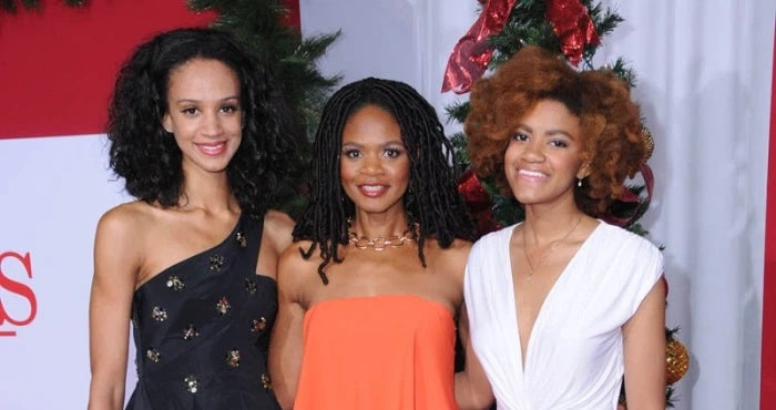 Kimberly Elise's Two Daughters Butterfly Rose Oldham and AjaBleu Oldham