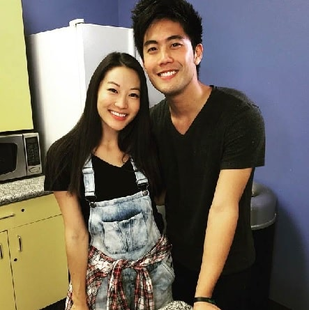 A picture of Ryan Higa with his girlfriend Adren Cho.