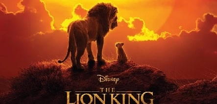 The poster of Jon Favreau highest grossed movie 'The Lion King'.