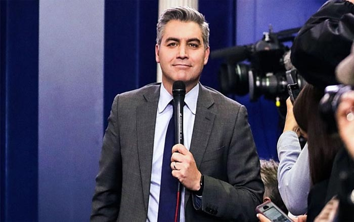 A picture of Sharon ex-husband Jim Acosta.