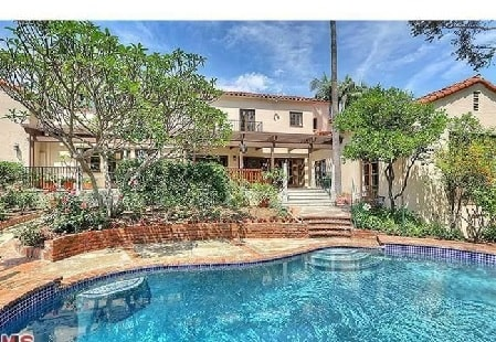 House of George Lopez with an outside pool worth $2.7 million.