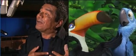 George Lopez as Rafael in Rio & Rio 2.