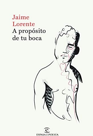 Front cover of Jaime Lorente book.