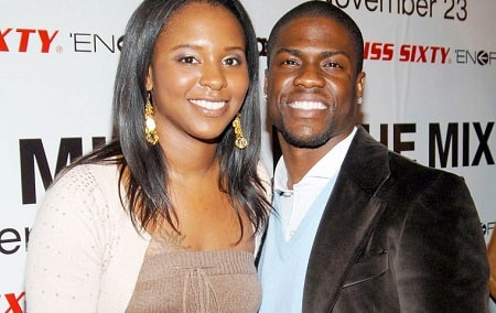 A picture of Heaven Hart's parents: Kevin Hart and his ex-wife, Torrie Hart.