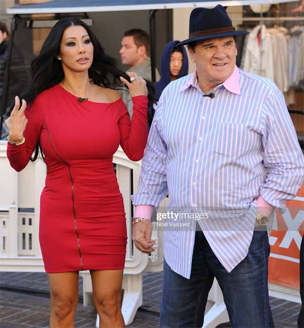 Kiana Kim and Pete Rose spotted together in Los Angeles.