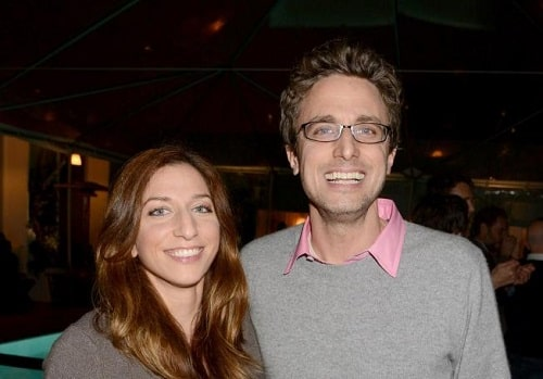 A picture of Chelsea Peretti with her brother Jonah Peretti.