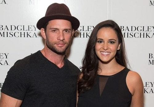 A picture of Melissa Fumero and her husband, David Fumero.