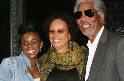 Myrna Colley-Lee with her ex-husband and adopted daughter E'Dina Hines.