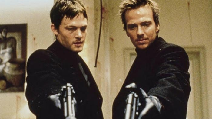 A picture from The Boondock Saints.