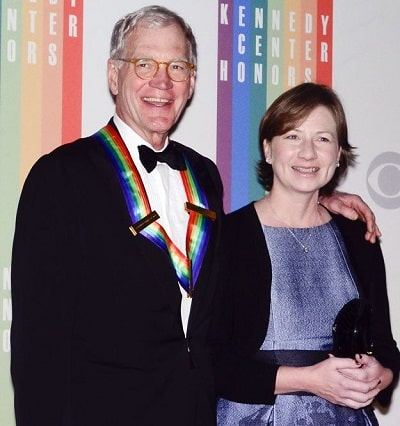 A picture of Harry Joseph Letterman's parents; David Letterman and Regina Lasko.