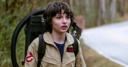 A picture of Finn Wolfhard as Mike Wheeler in Stranger Things.