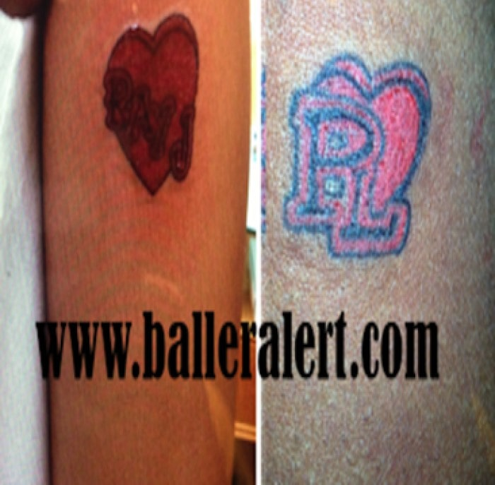 Princess Love and Ray J tattoo