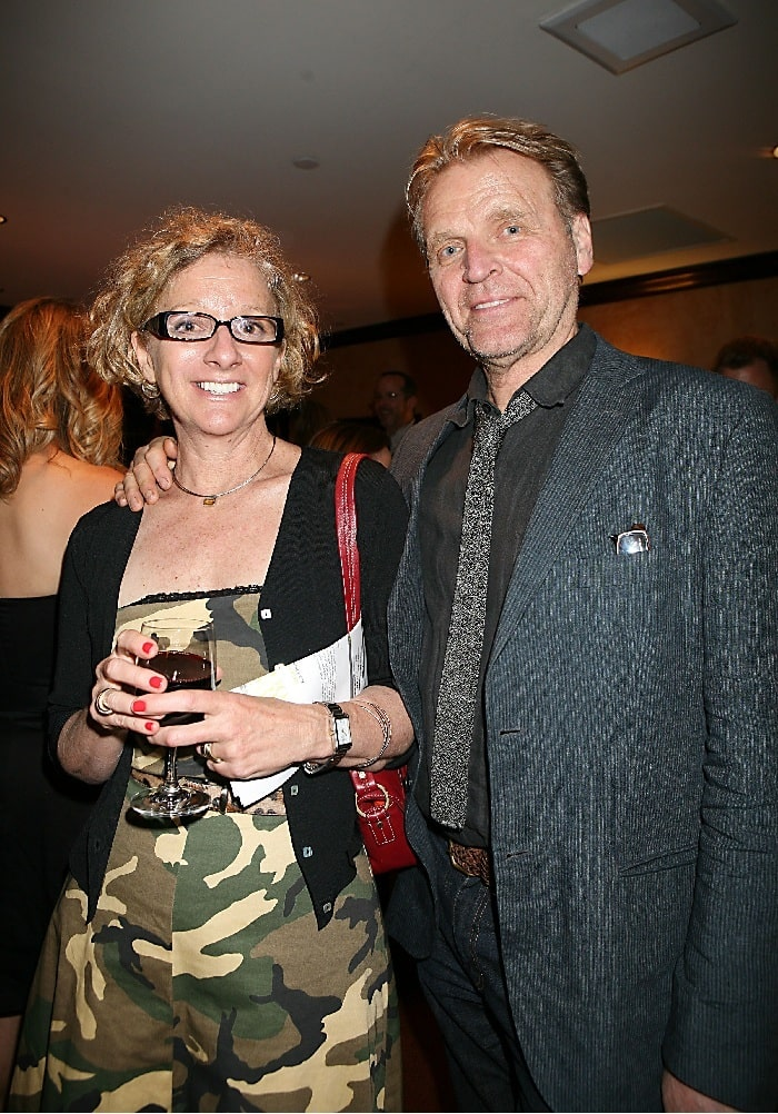 A picture of David Rasche and his wife Heather Lupton.