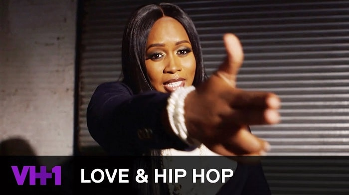 Remy Ma on TV show LHHNY
