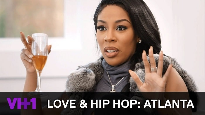 K.Michelle during her time on LAHH
