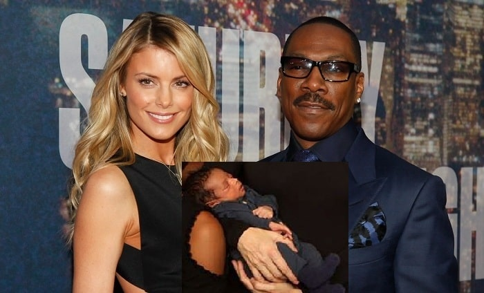 Eddie Murphy's Tenth Child Max Charles Murphy With Fiance Paige Butcher - Pictures and Facts