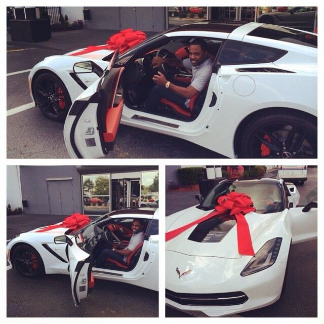 Tucker was gifted a car by his wife Kandi Burruss.