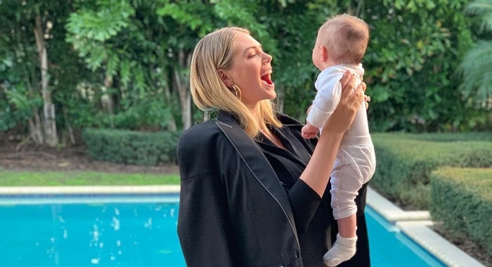 Kate Upton's Daughter Genevieve Upton Verlander With Husband Justin Verlander - Pictures and Facts