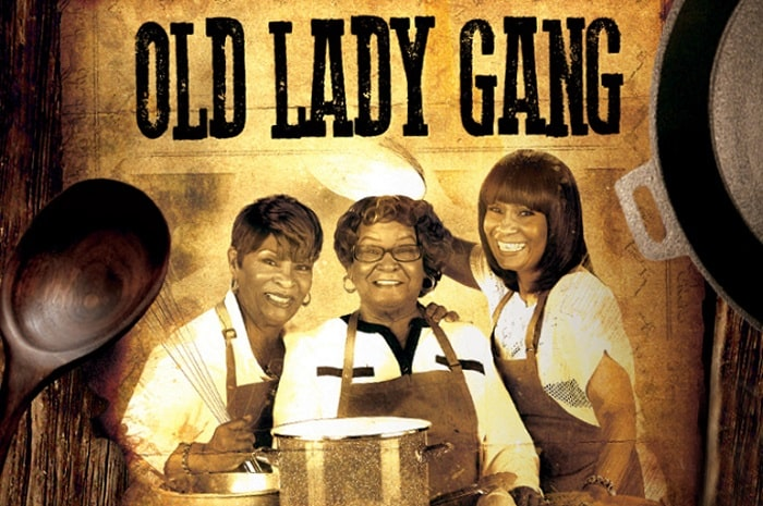 A picture of Old Lady Gang pamphlet.
