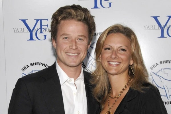 A picture of Billy Bush with his ex-wife, Sydney Davis.