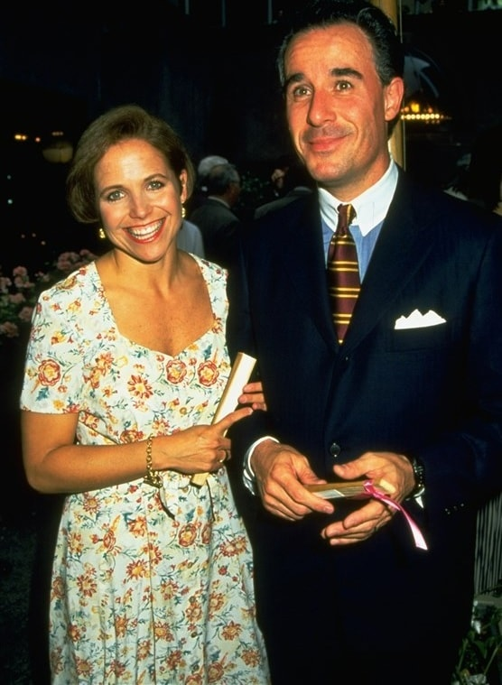 A picture of Katie Couric with her late ex-husband.