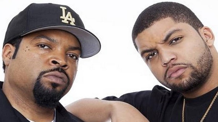 Ice Cube and his son O'Shea Jackson Jr.