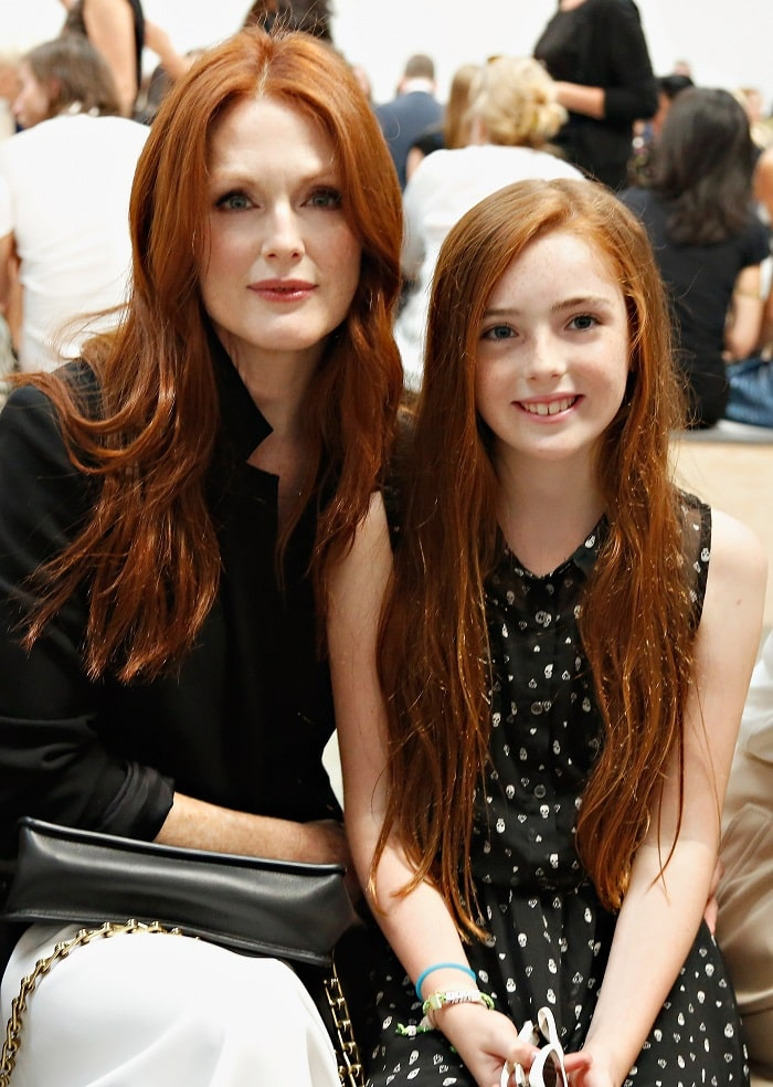 Julianne Moore and her daughter Liv Freundlich.