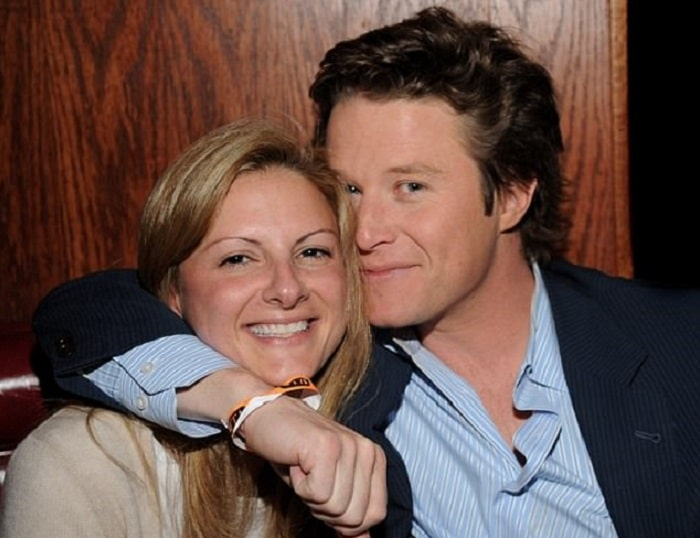 Sydney Davis and Billy Bush