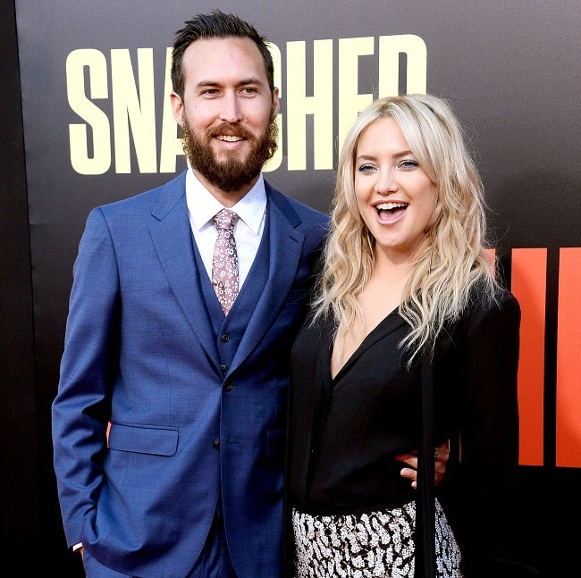 A picture of Danny Fujikawa with his partner Kate Hudson.