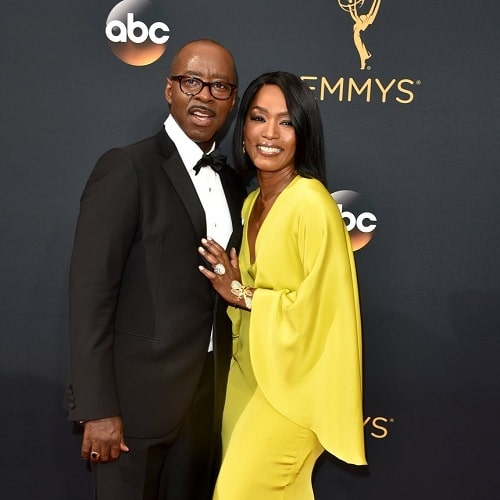 A picture of Angela Bassett with her husband, Courtney B. Vance.